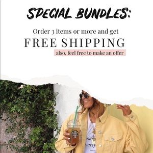 FREE SHIPPING ON BUNDLES